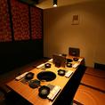 中小規模宴会では、4~10名様でご利用頂ける個室もご用意御座います。