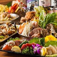 飲み放題付き宴会コースは3500円~ご用意しております!