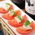 料理メニュー写真チーズ&トマトのカプレーゼ