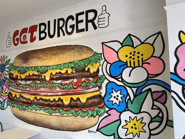 Get Burger ゲットバーガーの雰囲気1