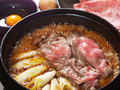 料理メニュー写真特選 A5 米沢牛リブロース しゃぶしゃぶ・すき焼き