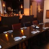 2階のテーブル席は中宴会に最適◎