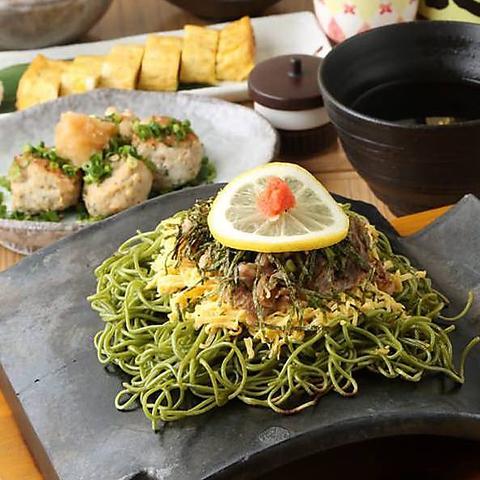 山口県の郷土料理『瓦そば』や、地酒をお愉しみください。15名様から貸切もOK!