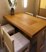 接待に人気のVIPカウンター個室。カウンター席に間仕切りをしてテーブルを置いて、半個室としてご利用いただくことができます。