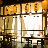 4名様用のテーブル席もご用意◎気の合う仲間とゆったりお食事をお楽しみ下さい♪アラカルト料理も多数あり☆