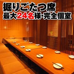 薩摩地鶏と炭火焼 万喜鶏 堺筋本町店の雰囲気1