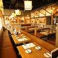 大型宴会も【塚田農場 秋葉原中央通り店】にお任せあれ。宴会は最大105名様までご対応。会社宴会・同窓会・打ち上げ等にどうぞ。