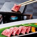 料理メニュー写真仙台牛 溶岩焼き