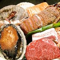 新鮮な海鮮類もご用意