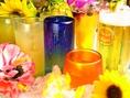 季節限定ドリンク~夏~琉球グラスでお楽しみ下さい♪