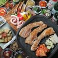 ☆おすすめ韓国料理1☆サムギョプサル食べ飲み放題♪3500円