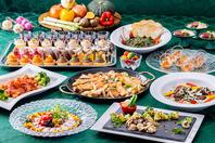 種類豊富な和洋さまざまなお料理をビュッフェスタイルで