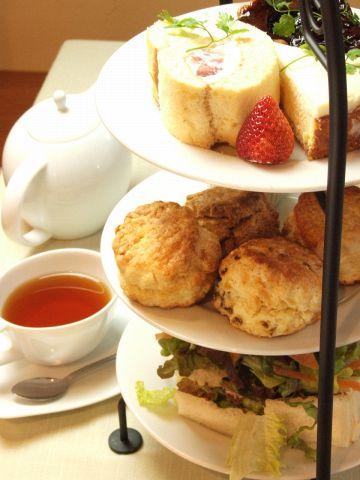 20種類~のインド・スリランカの紅茶や、ケーキ・ランチが楽しめる可愛いカフェです♪