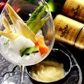 料理メニュー写真島根県直送の旬野菜を使ったパーニャカウダ