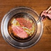 """肉の味を知り、加減を知り尽くした""""花焼き""""が稀少部位をお焼き致します"""