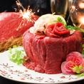 ◆記念日・バースデー◆HIBIKIでは、特別な誕生日・記念日・大人数のバースデーパーティなど、全面的に協力させて頂きます◎◆肉ケーキも大人気☆
