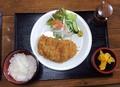 料理メニュー写真【平日ランチ】鶏カツ定食