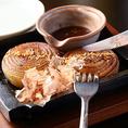 「淡路島玉ねぎ」を丸ごと1個堪能できる『玉ねぎステーキ』も、はずせないメニューのひとつです。