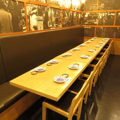 ご家族でのお食事会におすすめのお席がございます。ごゆっくりお寛ぎ下さい。