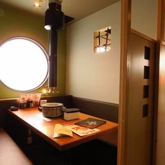 個室席完備!少人数でも入れる個室席を多数完備。