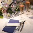 【結婚披露パーティー】土曜日・日曜日は結婚式2次会など貸切パーティーを承っております。