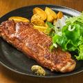 料理メニュー写真名物♪1ポンドステーキ(約450g)