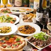 ≪ボリューム満点のコース、ちょっと贅沢なパーティーにおすすめ≫ 前菜の盛り合わせ、パルミジャーノで仕上げたシーザーサラダ、フォアグラ入りレバームースのブルスケッタ、ソーセージとポテト盛り合わせ、マルゲリータピザ、本日のパスタ、イベリコ豚肩ロースのグリル、季節のシャーベットまで、贅沢なコースです♪