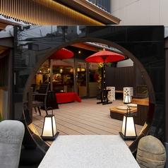 Cafe BAR タイムチャージカフェ ウブド 安心お宿プレミア 京都四条烏丸の写真