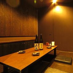 少人数の宴会にピッタリの8名様まで利用可能の掘りごたつ個室を完備!同僚と飲み仲間と楽しく宴会を♪