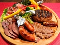 料理メニュー写真マスター渾身の一皿 『肉は別腹』盛り