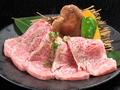 料理メニュー写真特選大トロカルビ(タレ・塩)