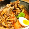 料理メニュー写真「北海道愛別矢部農園」矢部さんの舞茸スープカレー