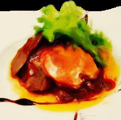 牛ヒレ肉とフォアグラグロッシーニ