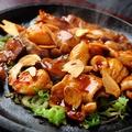 料理メニュー写真鶏ホルモン焼