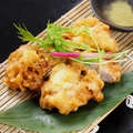 料理メニュー写真若鶏の塩天ぷら