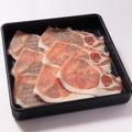 料理メニュー写真北海道産豚ロース 80g