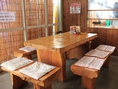8人掛けテーブル席