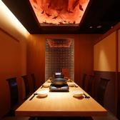 【個室】使い勝手の良いテーブル席!さまざまな人数に対応♪