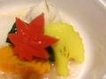 料理メニュー写真秋野菜 炊き合わせ吹き