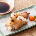 料理メニュー写真豚足焼(ポン酢・ピリ辛)