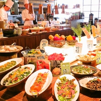 新鮮食材や旬のお野菜を使った体に優しいお料理たち♪