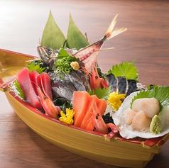 料理メニュー写真本日の舟盛り