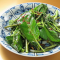 料理メニュー写真空芯菜の旨塩炒め