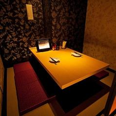 2名席 ★少人数向けの個室も充実★温かみのある照明と和を基調とした空間が穏やかな時間を演出。2名様から完全個室でご用意しておりますので、空普段使いから、記念日での特別な日のご利用まで様々なタイミングでご利用頂けます♪