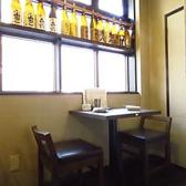 1階の隅に2名様専用テーブル席をご用意。サクッと飲み会にも最適です!