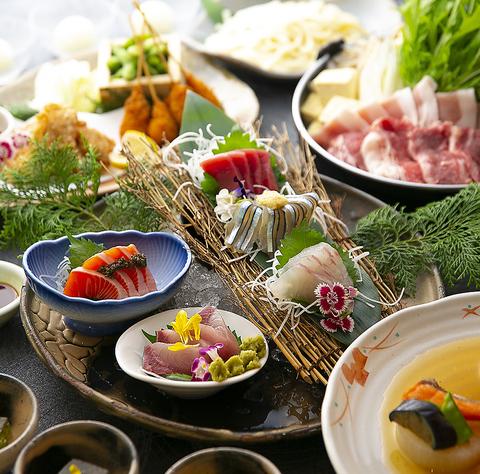 ≪ご宴会予約承り中≫美味しい旬の食材と厳選魚介や黒毛和牛、落ち着いた空間が自慢