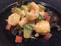 料理メニュー写真海老とアボカドオーロラソース