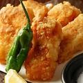 料理メニュー写真総州古白鶏の唐揚げ
