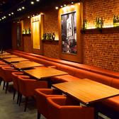 一瞬バルを思わせるような、こだわり抜かれた店内空間♪最大120名様までの宴会可能!
