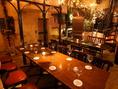 2名席~テーブル席は人数に合わせてフレキシブルに変更可能です!